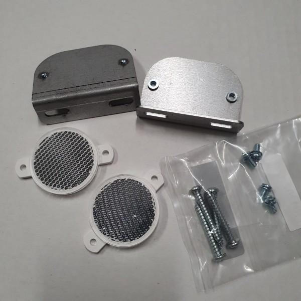 PKG TELEFOUL REFLECTOR/BRKT/HDWE
